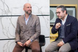 luxury interior design Turella Nico Celidoni evento Foodies' Challenge chef presentazione architettura Natale Giunta Filippo La Mantia Cristina Bowerman