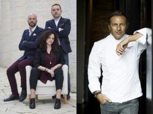 luxury interior design Turella Nico Celidoni evento Foodies' Challenge chef presentazione architettura Filippo La Mantia Triennale ristorante michelin stars