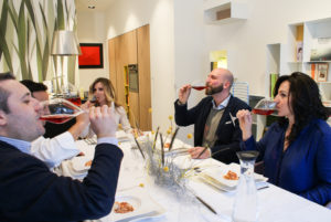 4italy luxury interior design Turella Nico Celidoni progetto video ristorante piatto marmo carrara food concept michelin stars Lorella Cuccarini