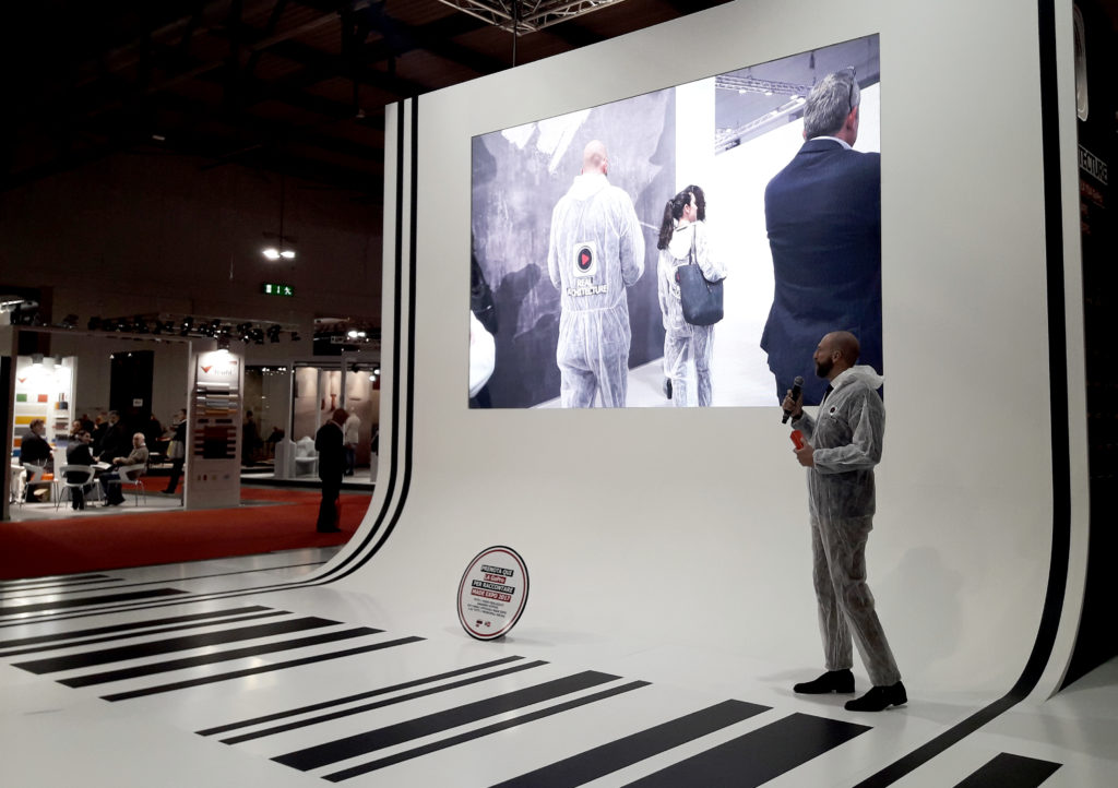 interior design Turella Nico Celidoni evento MADE expo architettura gopro video Towant fiera materiali prodotti finiture