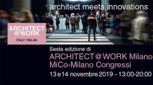 interior design Turella Nico Celidoni evento fiera materiali prodotti forniture architettura