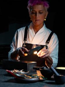 luxury interior design Turella Nico Celidoni backstage Foodies' Challenge chef Cristina Bowerman michelin stars ristorante Glass Hostaria food video