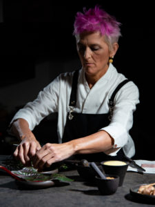 luxury interior design Turella Nico Celidoni backstage Foodies' Challenge chef Cristina Bowerman michelin stars ristorante Glass Hostaria food video