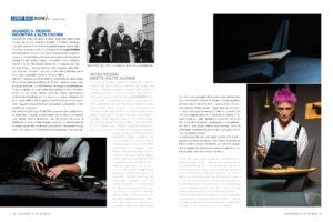 luxury interior design Turella Nico Celidoni pubblicazione rivista magazine lusso italian style chef Natale Giunta Filippo La Mantina Cristina Bowerman
