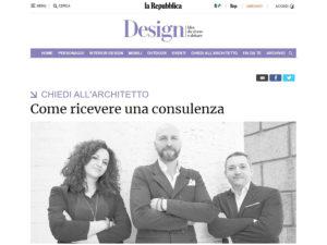 interior design Turella Nico Celidoni pubblicazione quotidiano rubrica redazione architettura arredamento ristrutturazioni italian style
